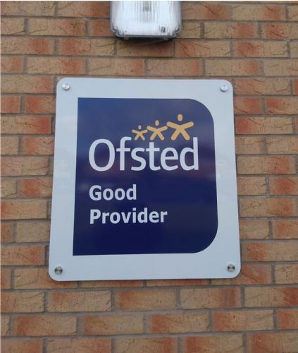 Ofsted Good Wall sign
